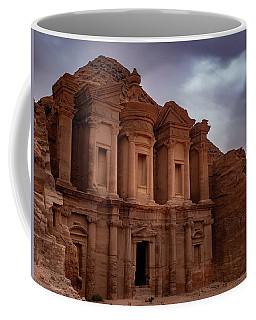 Petra's Monastery Coffee Mug