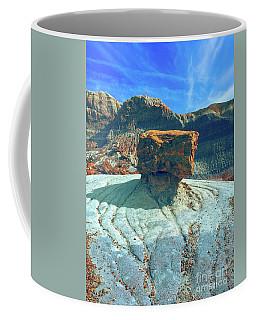 Petrified Forest Landscape Coffee Mug