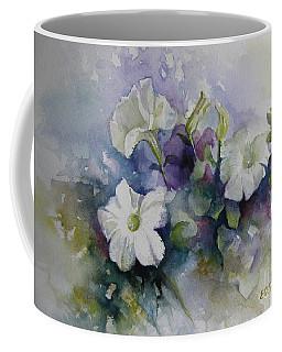Petunias In Summer Coffee Mug by Elena Oleniuc