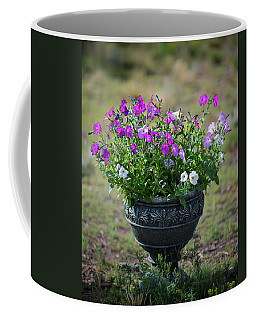 Petunias In The Chico Coffee Mug