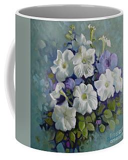Petunias Symphony Coffee Mug
