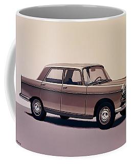 Peugeot 404 1960 Painting Coffee Mug