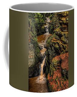 Pewits Nest Three Waterfalls Coffee Mug