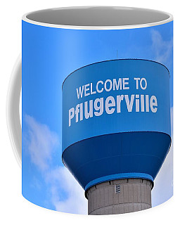 Pflugerville Texas - Water Tower Coffee Mug
