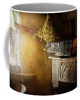 Coffee Mug featuring the photograph Pharmacy - The Apothecarian by Mike Savad