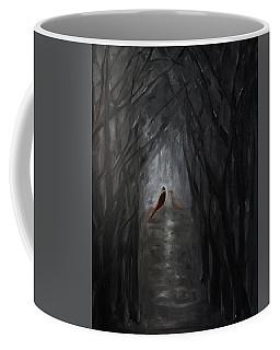 Pheasants In The Garden Coffee Mug by Tone Aanderaa