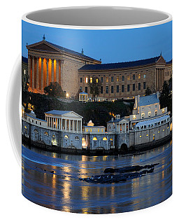 Philadelphia Art Museum And Fairmount Water Works Coffee Mug