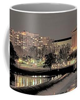 Philadelphia Art Museum In Pastel Coffee Mug