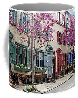 Coffee Mug featuring the photograph Philadelphia Blossoming In The Spring by Bill Cannon