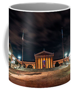 Coffee Mug featuring the photograph Philadelphia Museum Of Art by Marvin Spates