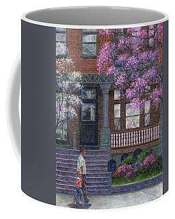 Philadelphia Street In Spring Coffee Mug