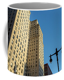 Coffee Mug featuring the photograph Philadelphia Urban Landscape - 0948 by David Sutton