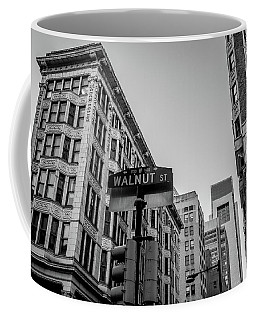 Coffee Mug featuring the photograph Philadelphia Urban Landscape - 0980 by David Sutton