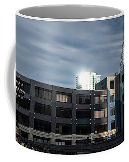 Coffee Mug featuring the photograph Philadelphia Urban Landscape - 1195 by David Sutton