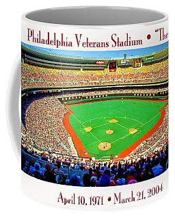 Philadelphia Veterans Stadium The Vet Coffee Mug
