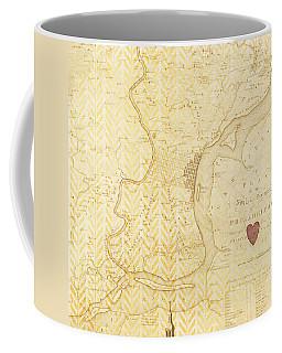 Philadelphia Vintage Map Coffee Mug