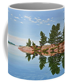 Coffee Mug featuring the painting Philip Edward Island by Kenneth M Kirsch