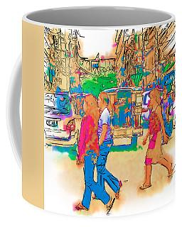 Philippine Girls Crossing Street Coffee Mug