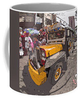 Philippines 1261 Jeepney Coffee Mug