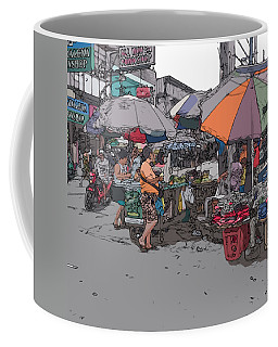 Philippines 708 Market Coffee Mug