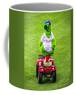 Phillie Phanatic Scooter Coffee Mug