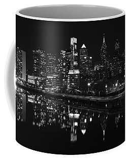 Philly And The Schuylkill Bw Coffee Mug