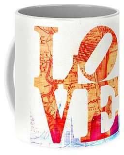 Philly Love V4 Coffee Mug