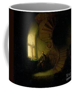 Philosopher In Meditation Coffee Mug