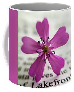 Phlox Print Coffee Mug