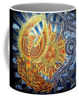 Phoenix And Dragon Coffee Mug