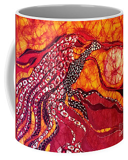 Phoenix Sweeps The Earth Coffee Mug