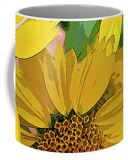 Yellow Wildflowers Photograph II Coffee Mug