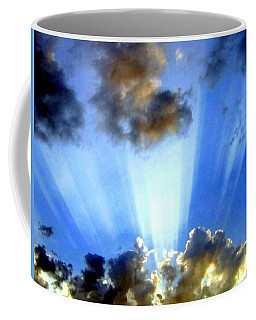 Coffee Mug featuring the digital art Photo Drama by Will Borden