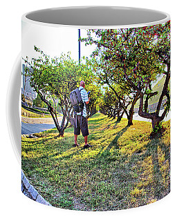 Coffee Mug featuring the photograph Photographer by Brian Wallace