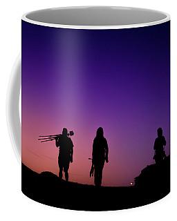 Photographers At Sunset Coffee Mug