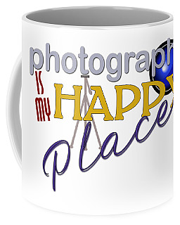 Photography Is My Happy Place Coffee Mug