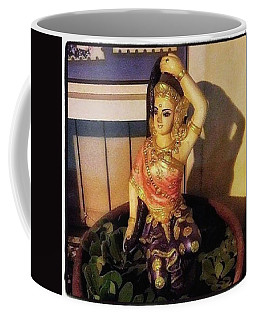 Coffee Mug featuring the photograph Phra Mae Thorani. Holy Mother Of Earth by Mr Photojimsf