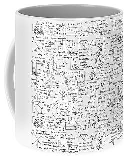 Physics Forms Coffee Mug by Gina Dsgn