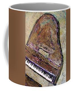 Piano In Bronze Coffee Mug