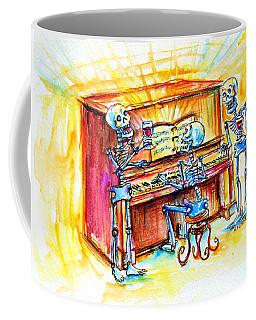 Piano Man Coffee Mug by Heather Calderon