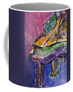 Piano Purple - Cropped Coffee Mug