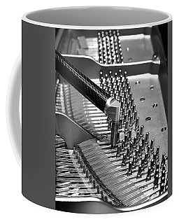 Piano Tuning Bw Coffee Mug