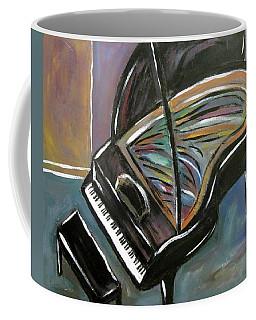 Piano With High Heel Coffee Mug