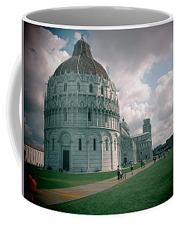Coffee Mug featuring the photograph Piazza In Piza by Christin Brodie
