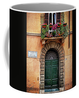 Piazza Navona House Coffee Mug by Marion McCristall