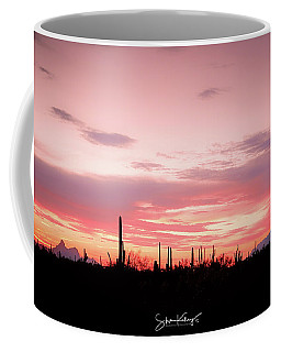 Picacho Sunset Coffee Mug