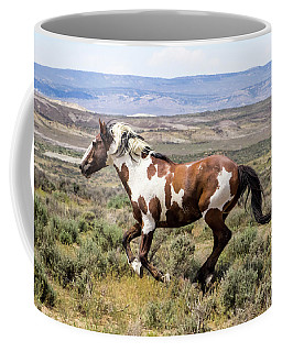 Picasso - Free As The Wind Coffee Mug by Nadja Rider