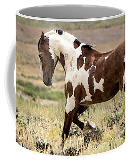 Picasso Strutting His Stuff Coffee Mug by Nadja Rider