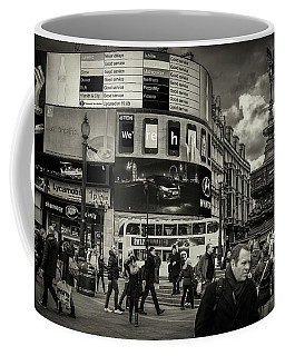 Coffee Mug featuring the photograph Piccadilly  by Stewart Marsden
