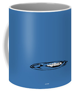Coffee Mug featuring the digital art Piccolo In Blue by Jazz DaBri